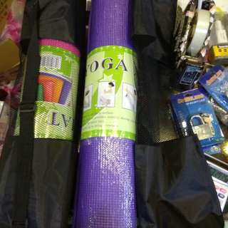 瑜珈墊(尺寸63*173公分厚5mm)加背袋200元限來店買點我頭像看店址和上千種商品