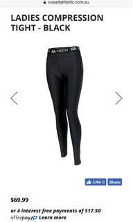 Russell compression tights