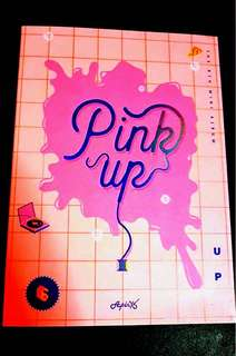 Apink pinkup unsealed album *includes photocard*