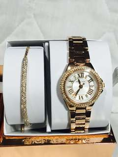 Michael Kors ladies watch set