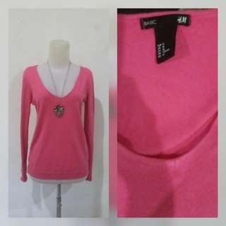 H&M pinky Sweater