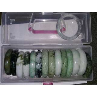 Jadeite Bangle (reserve for Desmond)
