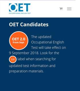 OET for Nurses taking exam this August! DONT MISS!