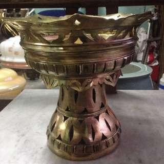 Solid Brass coal burner