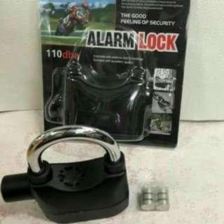 KW: Anti-Theft Alarm Lock