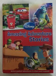 Buku Dongeng Import Disney Amazing Adventure Stories