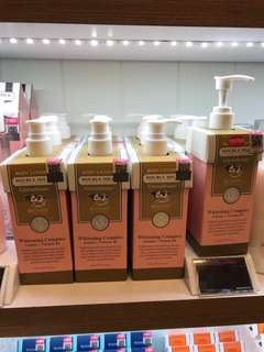 scentio body lotions series