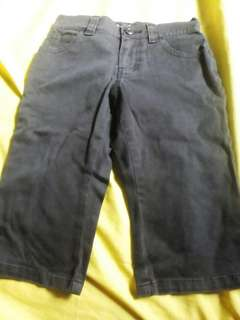 Old Navy Black Denim Pants