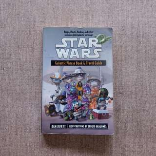 Starwars - Galactic phrase book & travel guide