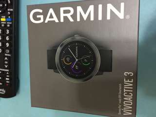 🎁Brand new🎁Garmin Vivoactive 3 Smart Watch 智能手錶英文版