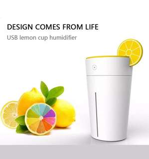 USB Mini Humidifier (Cup Lemon)