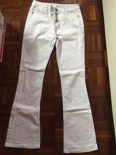 Cotton on mid rise flare jeans
