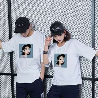 [PO] Graphic Couple Tshirt