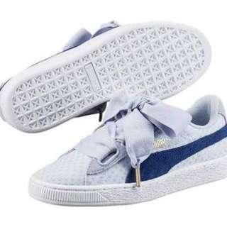 Sepatu Sneakers Casual Puma Basket Heart Denim ORIGINAL! 2ddcb25531