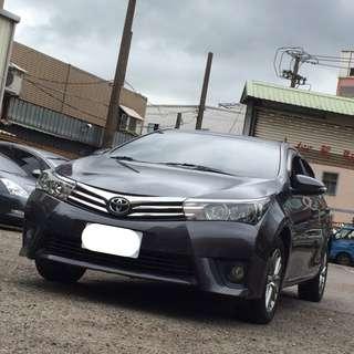 14年 豐田 ALTIS G版 灰色 專營優質認證中古車