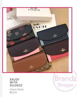 💥ON SALE NOW! 💯% ORI Coach Women / Men Long Wallet >> FOR HIM / HER @ Ready Stock!💥