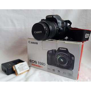 Canon EOS 550D Digital SLR and Compact System Camera