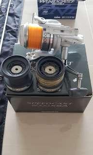 Shimano speedcast xsa8000 reel