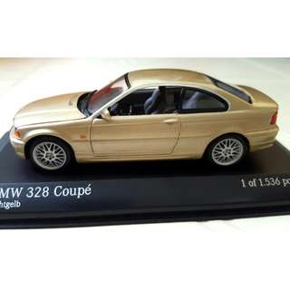 Limited Edition BMW 328 Coupe (1 of 1536) Realistic 1:43 Model Car
