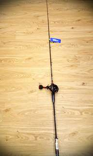 Fishing Rod with Overhead Reel Combo. Light Jigging Series. UP $310