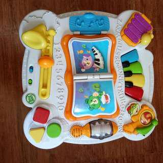 Leapfrog Activity Table & Fisher Price Lawn Mower (Push Walker)