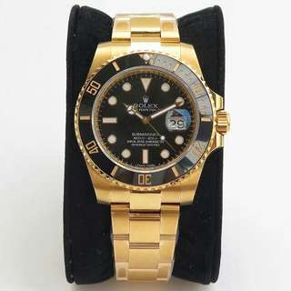勞力士Rolex潛航者型系列116618LN-97208 40mm男機械錶黑盤腕表 金