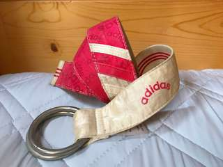 ❤️ adidas belt 皮帶 布帶 (Free size)