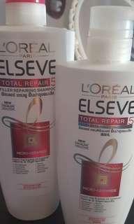 Loreal shampoo and conditioner