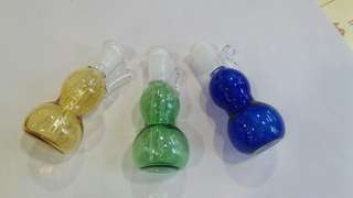 Display glass bong bottle