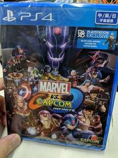 Ps4 Marvel vs Capcom infite