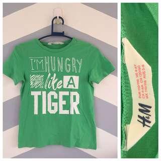 H&M Green Statement Shirt