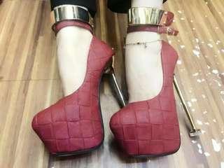 6inches ladies heels