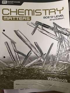CHEMISTRY MATTERS workbook