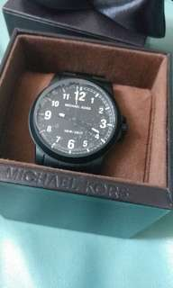 Michael Kors Mens Black Watch