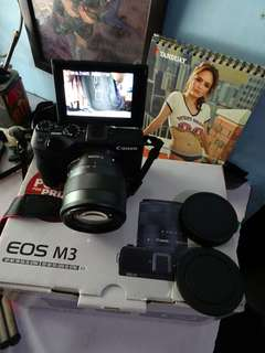 canon eos m3 24 mp wifi nfc mirrorles camera