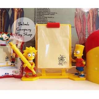 2011 kinder 超大健達出奇蛋 FOX the Simpsons 福斯 辛普森 memo組合 辛普森家庭 絕版玩具 公仔