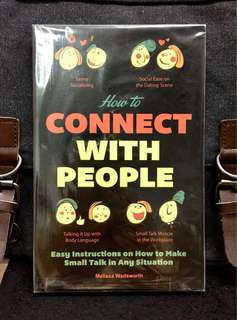 《New Book Condition + The Effective Small Talk Communicating Handbook》Melissa Wadsworth -  HOW TO CONNECT WITH PEOPLE : Easy Instructions on How to Make Small Talk in Any Situation