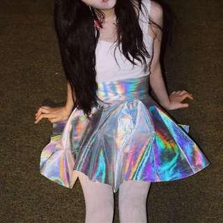 [PO] Holographic Skirt