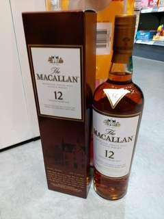 Macallan 12  有12支一起走