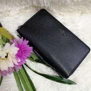 Coach Travel Organizer Leather Wallet F23334