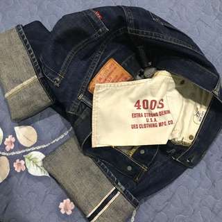 Vintage UES USA Union Made Kepala kain
