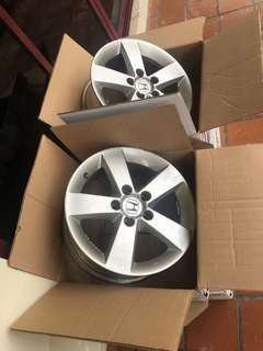 "Honda Civic FD1 2007 stock 16"" Rims"