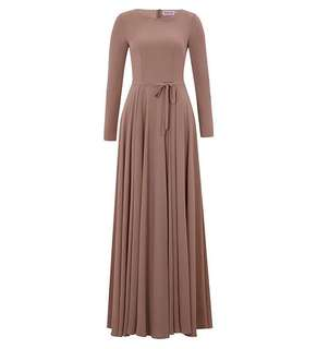 Inayah Dusty Pink Arya Gown
