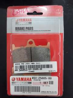 YAMAHA Tmax 530 (original)front brake pads full set left and right