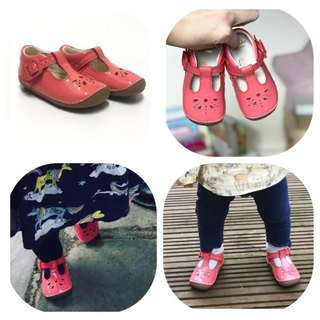 💯Original brand new CLARKS Leather Baby Shoes