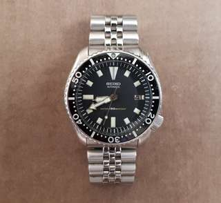 Seiko 7002 Divers Watch with New Jubilee Bracelet