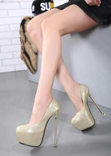 6.5 inches ladies heels