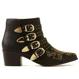 Cotton On studded boots