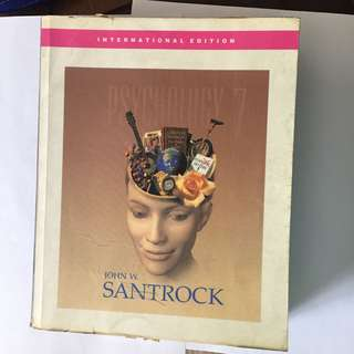 Psychology 7th edition by Santrock