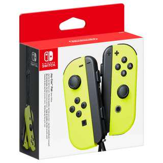 JOYCON NEON YELLOW NINTENDO SWITCH
